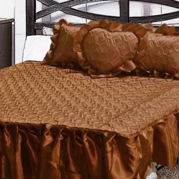 Покрывало Магия Снов ткань атлас паянный, с тремя подушками