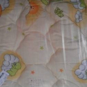 Одеяло Vladi стеганое чистая шерсть 100 х 140