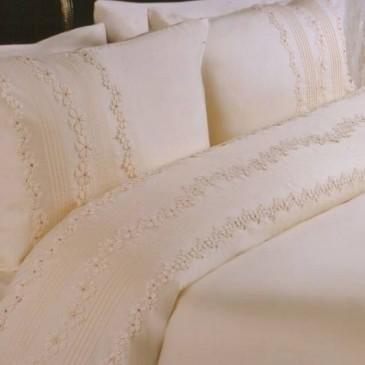 Комплект постельного бельяArya Lace Camelia Krem