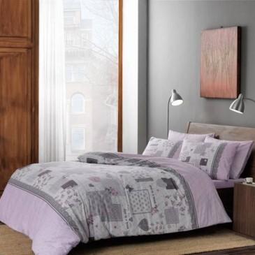 Постельное белье TAC Ranforce Elora lilac