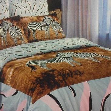 Комплект постельного белья Love You Новые зебры