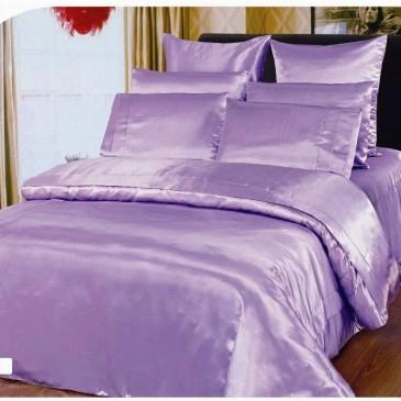 Комплект постельного белья ARYA Шелк Однотонный Lila