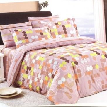 Комплект постельного белья ARYA сатин Cessare