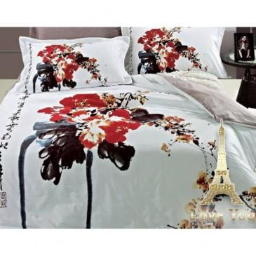 Комплект постельного белья Love You сатин Шик