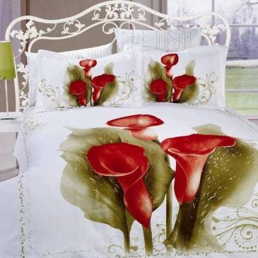 Комплект постельного белья ARYA сатин Anemone