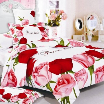 Комплект постельного белья ARYA сатин Perla