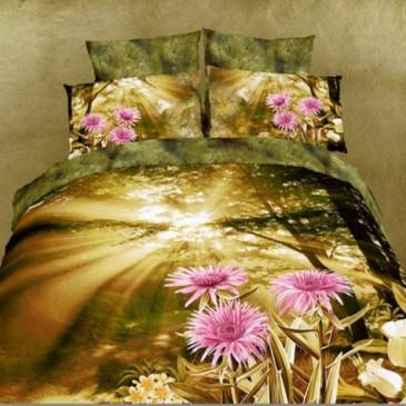 Комплект постельного белья Love You сатин Рассвет