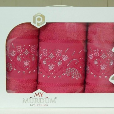Набор полотенец My Murdum 3-ка (б+2л)