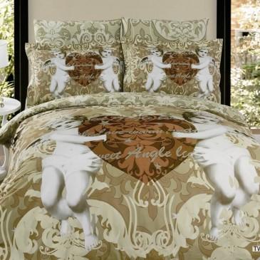 Комплект постельного белья ARYA сатин  Twin Angels