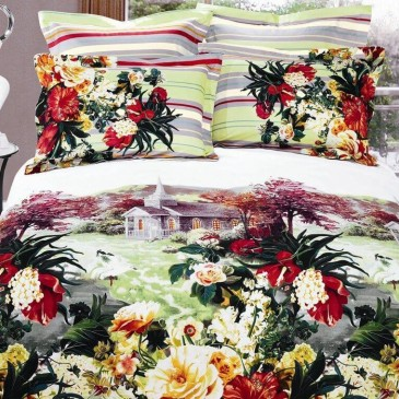 Комплект постельного белья ARYA сатин Vercelli