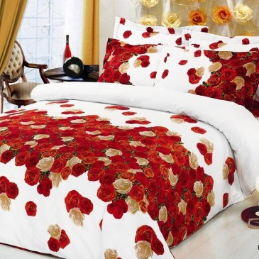 Комплект постельного белья ARYA сатин Rosemary