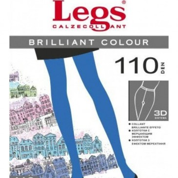Колготки LEGS BRILLIANT COLOUR 110