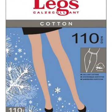 Колготки LEGS COTTON 110