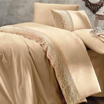 Комплект постельного белья Amour Paris Dream bej