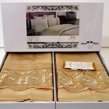 Комплект постельного белья Amour Paris Bonita bej