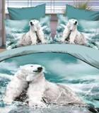 Bed linen - satin 3 D