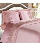 Bedspread - silk / satin